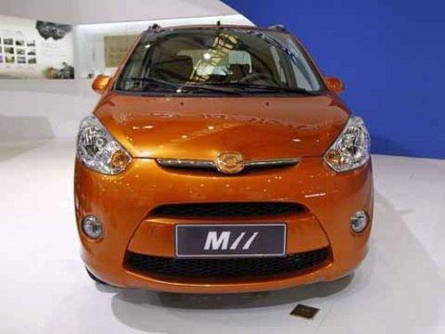 海马全新A00级新车M11将上市1.0L发动机高清图片