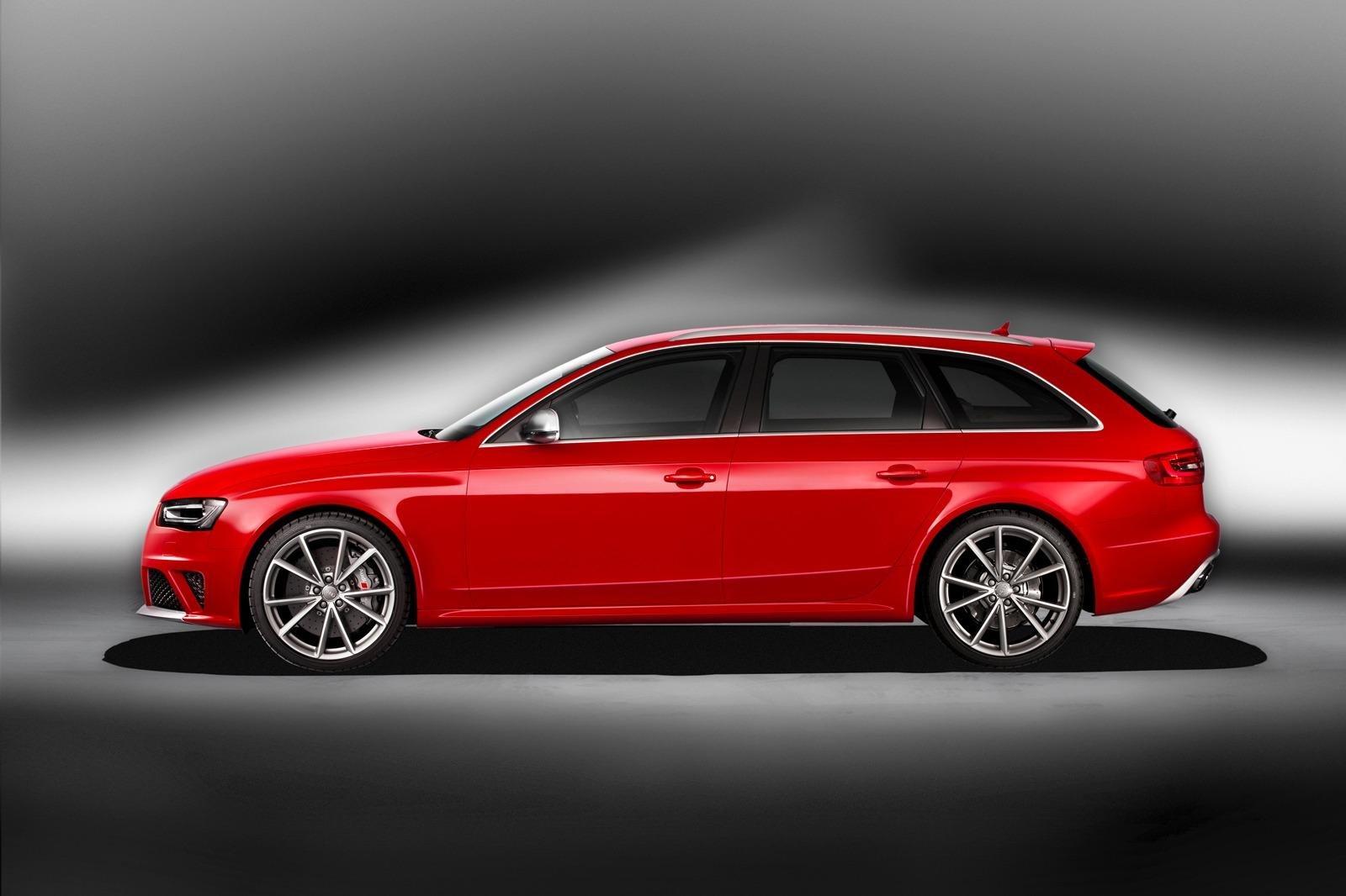 2012款奥迪rs4旅行车 v8引擎 日内瓦发布
