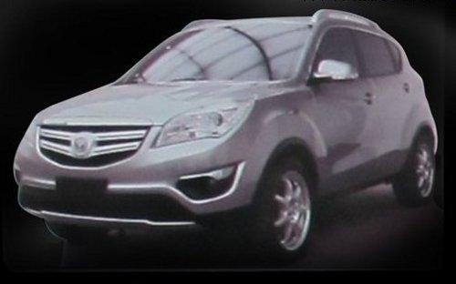 长安SUV概念车E301 或7月份正式上市高清图片