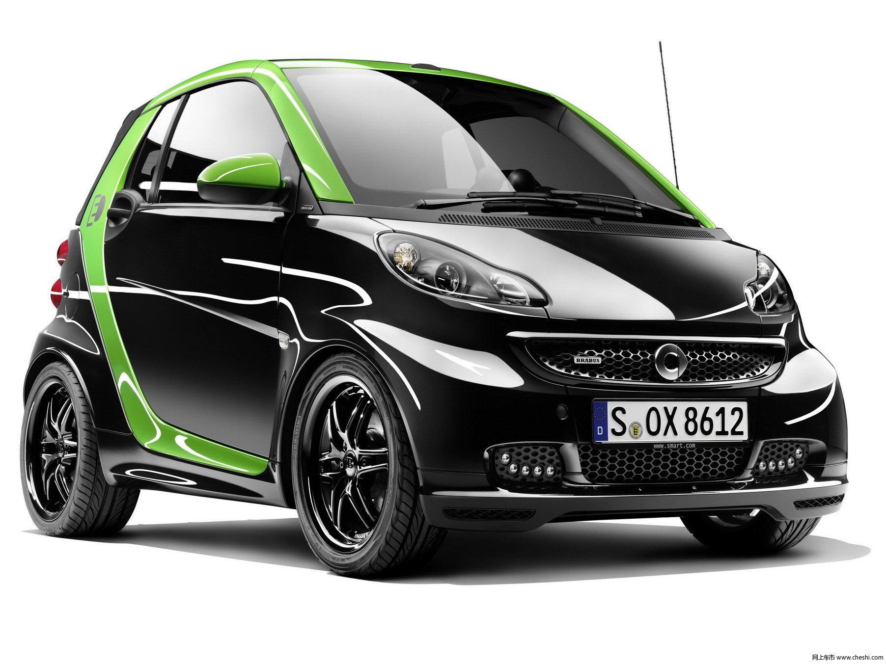 brabus携smart在日内瓦车展掀起电动风 高清图片