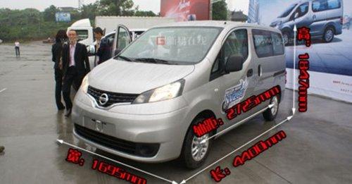 广州/郑州日产CDV包括两种车型,分别为东风帅客和尼桑NV200,CDV...