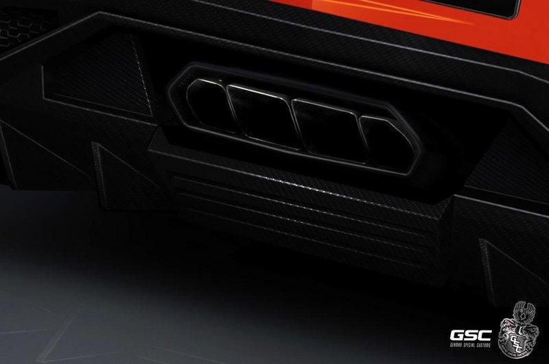 兰博基尼aventador改装版 外形更加科幻 图片浏览 高清图片