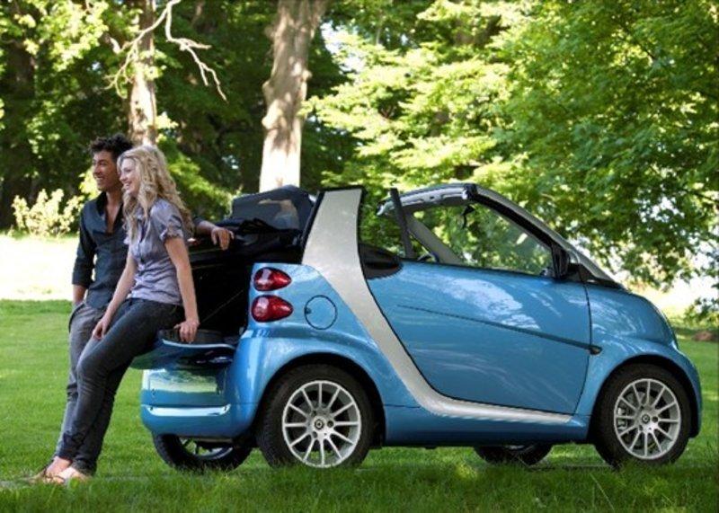 奔驰smart敞篷版最高让利5万北京 奔驰smart敞篷 顶配 最贵高清图片
