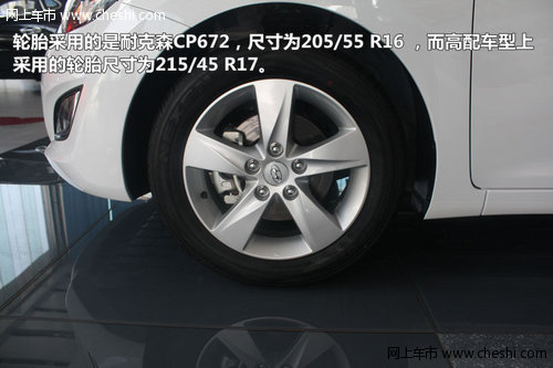 中级车的革新力作北京现代朗动到店实拍