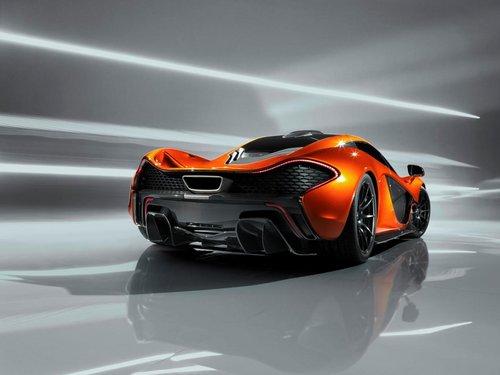 迈凯轮P1超跑发布 2.8秒破百/明年上市