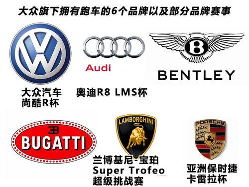 大众携4大超跑 齐聚中国冠军赛车嘉年华
