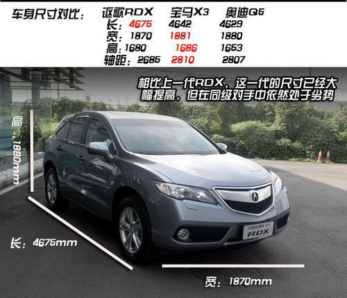 网上车市实拍全新讴歌RDX