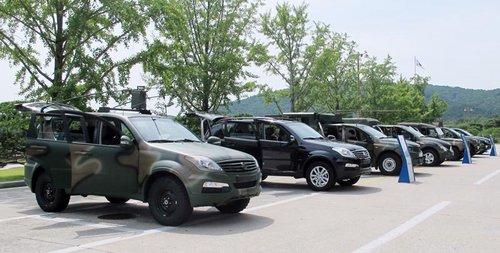 双龙两车型被韩国国防部选为军用指挥车