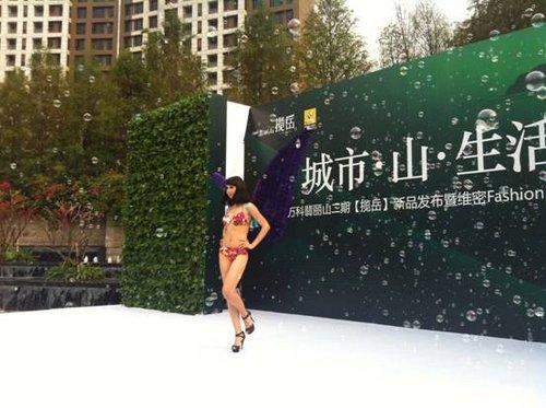 环球时尚小姐的时尚内衣秀 东莞大兴 法国雷诺汽车时尚盛高清图片