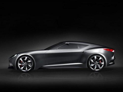 劳恩斯酷派原型车 现代HND-9概念车发布