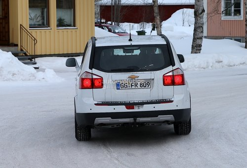 雪佛兰科帕奇SUV谍照 基于全新D2XX平台