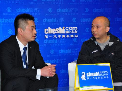 专访上海东昌中环汽车销售总监叶弘图片