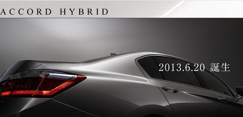 2014款本田雅阁混动版 2.0引擎/售12万