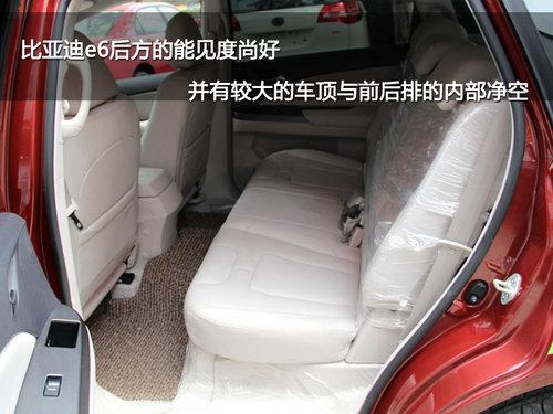 每公里几分钱 试驾比亚迪纯电动汽车E6高清图片