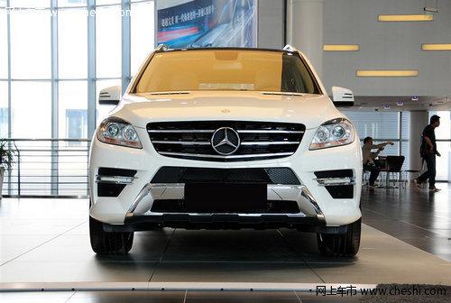 新款奔驰ML350狂降 天津现车巅峰让利售