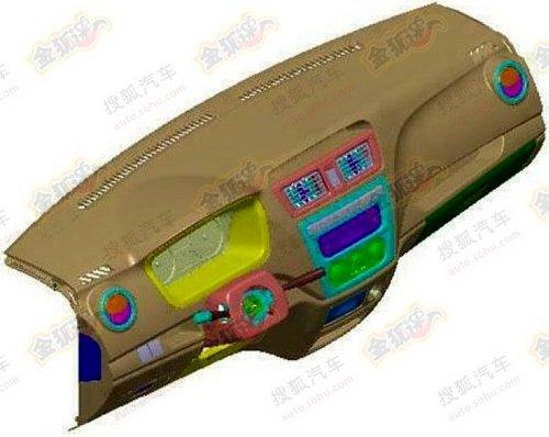 单侧侧滑门设计 长安汽车G101商用车曝光