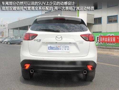 Kodo魂动 长安马自达国产CX-5衢州实拍