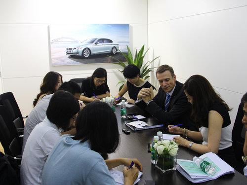 网上车市专访华晨宝马营销副总裁万博瑞