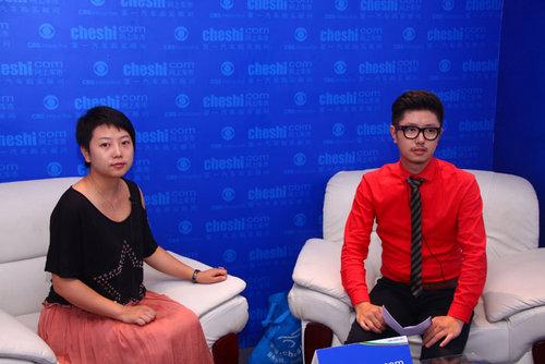 网上车市专访港宏集团市场总监陈雪