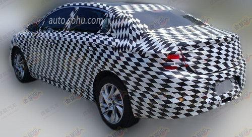 长安谛艾仕DS4三厢版 有望北京车展首发