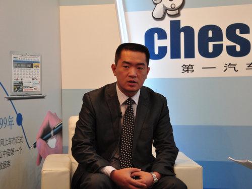 专访庞大双龙销售部总经理郑天保