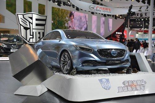 广汽传祺携E-JET概念车出击长沙车展