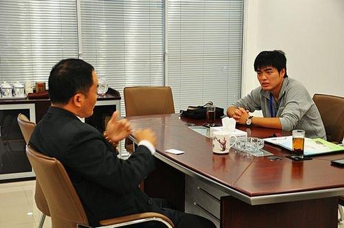 访纳智捷无锡南华升隆汽车生活馆总经理 汤恵新