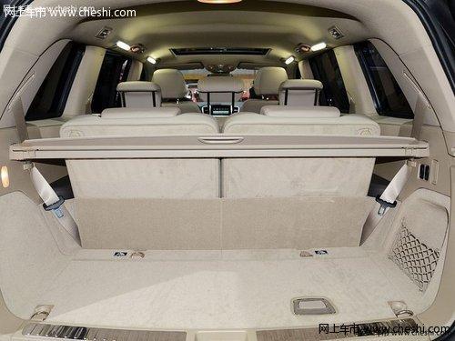 中规版奔驰GL400 新款零利放售底价侵袭