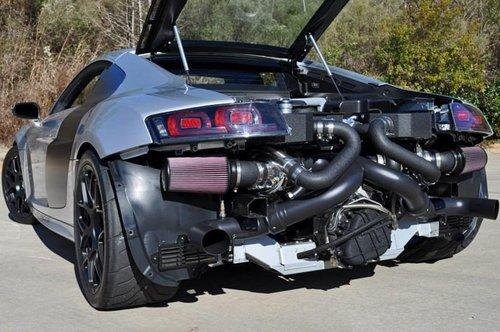 如虎添翼 奥迪R8 GT性能改装-1800马力