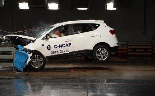 江淮瑞风S5获C-NCAP新标准碰撞五星评价