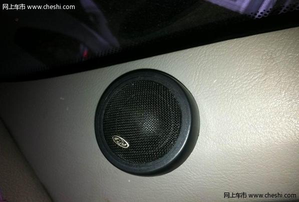 奇瑞QQ3汽车音响改装入门级炸机高清图片