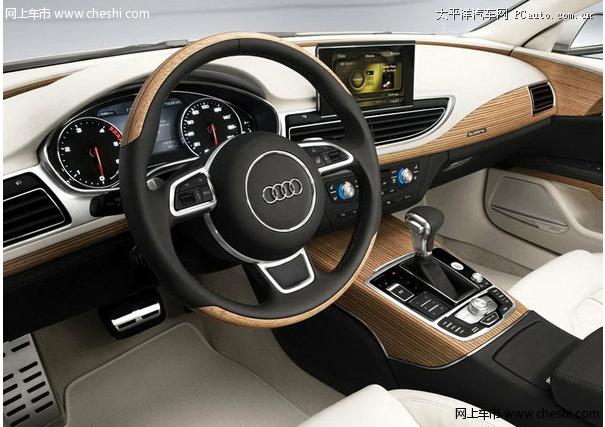 """奥迪集团设计总监沃尔夫冈·艾格尔(Wolfgang Egger)表示:""""让客户感受到我们精心雕琢汽车时的情感和激情对我们来说非常重要。情感上的审美意味着感性与感官的完美融合。"""" 为了带给人们愉悦的感官体验,奥迪设计师对内饰中的每一处微小细节都格外关注。 奥迪A7 Sportback的内饰设计在整体上偏重清新淡雅的色调与真实的质感。考究的大面积桃木装饰、金属质感装饰、钢琴漆面板均融汇于流动的线条与表面之中,营造出一种优雅、含蓄、富有内涵的氛围。其中独特的淡黄色线纹木饰"""