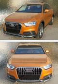 尺寸一样奥迪Q3柴油版测试车国内现身 或8月引入(图)