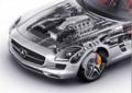 顶尖科技的结晶 奔驰SLS AMG动力出色