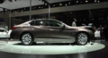 质量可靠 高科技运动健将 车展体验英菲尼迪Q50