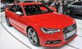搭载双涡轮V8发动机 奥迪S6外观大气