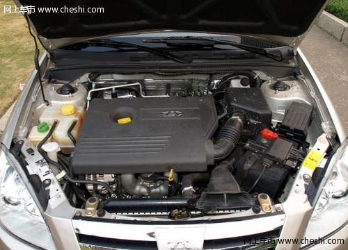 奇瑞a5发动机性能全面介绍图片