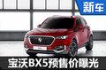 宝沃BX5全新SUV开启预订 售13-18万元