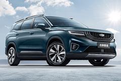 吉利豪越SUV 主推大5座布局-预计不到15万起售