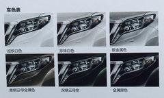 国产普拉多2.7L配置曝光 3款车型/6颜色