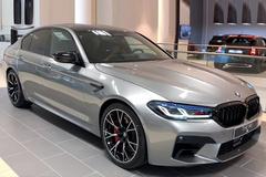 宝马新款M5展厅实拍!年内交付/4.4T V8动力更强