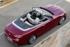 奔驰新E级敞篷版官图发布 搭3.0T引擎配48V轻混