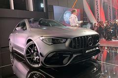 全新梅赛德斯-AMG CLA 45正式上市 55.98万元起