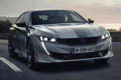 标致508新车型实拍曝光!年内开售/搭1.6T动力大涨