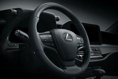 雷克萨斯新款LS官图发布 换新样式灯组/四季度开售