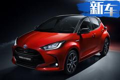 丰田新小型SUV渲染图 下半年发布竞争本田缤智