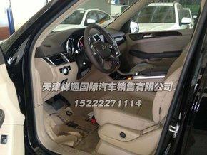新款奔驰ml350汽油版内饰中控高清图片