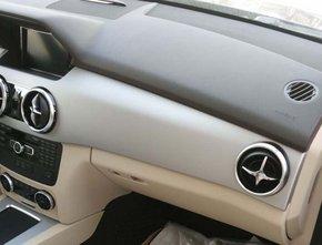 新款奔驰glk300内饰中控高清图片
