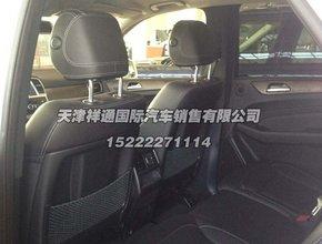 2014款美规奔驰ml350内饰中控高清图片