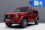 奔驰新一代G级夜色组件版 选用专属暗红配色